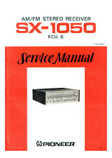 Service Manual Manual for Pioneer SX-1050