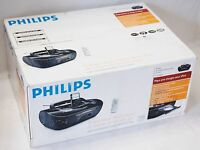 NEW Philips AZ1330D Portable CD Player iPhone 4/4s Speaker Dock iPod nano touch