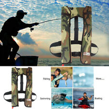 Adult Manual Inflatable Aid Sailing Kayak Canoeing Fishing Life Jacket Vest AU