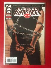 The Punisher # 3. Garth Ennis. Near mint condition. Bagged & Boarded. Max series