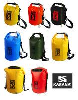 Karana Ocean Dry Pack Waterproof  Kayake Travel Rucksack Bag 5L 10L 15L 20 30 40