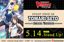 CARDFIGHT!! VANGUARD OVERDRESS STARTER DECK 05 Tomari Seto Aurora Valkyrie