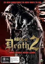 The ABC's ABCs Of Death 2 DVD R4 Brand New!