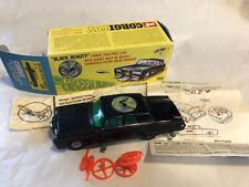 DIECAST CORGI TOYS GREEN HORNET BLACK BEAUTY CRIME FIGHTING CAR BOXED EXCELLENT