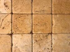 Piastrelle - Mosaico 10x10 in pietra travertino Giallo Persia per rivestimenti