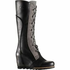 *SOREL* Womens Cate the Great Wedge Black Size 8.5  - Medium