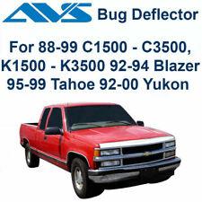 AVS Fits 1989-2000 GMC Chevy Aeroskin Chrome Hood Protector Bug Shield 622014