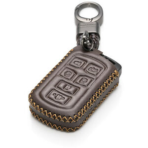 Vitodeco Leather Keyless Remote Smart Key Fob Case for 2011 - 2020 Toyota Sienna