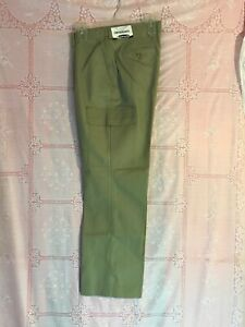 Edwards Garment Women's Ladies Straight Leg Chino Cargo Pants Size 10 Pant 8573