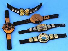 WWE Mattel Elite Championship Accessory Belt Lot Tag Winged Eagle NXT Big Gol_e1
