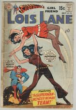Lois Lane #93 FR July 1969 Wonder Woman/Superman team