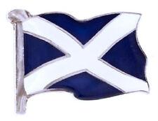 SCOTLAND NATIONAL FLAG - SCOTTISH ST ANDREW'S DAY ENAMEL LAPEL PIN BADGE