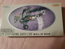DRAGON SHANGHAI 1:48 KNIGHTS OF THE SKY SERIES FOKKER DR.1 LTN. JOSEF JACOBS,...