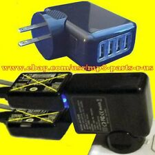 NEW POWER UP ONE OR TWO 2 LINES Magic Jack Express Phone Systems 4 Port Adapter