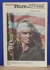 Minneapolis Tribune TV Week December 1 1974  Richard Thomas John Boy on Cover