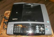 brother MFC-495CW color inkjet printer,copier,scanner,fax powers up used