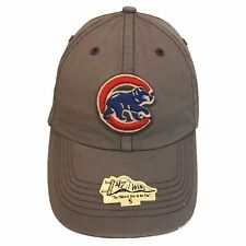 Chicago Cubs '47 Twins Franchise Slate Bear S Fitted Cap Hat $30