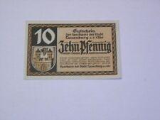 LAUENBURG, GERMANY 1918 10 Pf NOTGELD UNC   GRA: L18.1