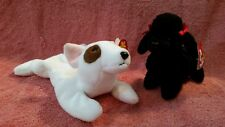 TY BUTCH & GIGI DOGS BEANIE BABY RETIRED VINTAGE 1997/1998 LOT 2 VINTAGE MINT