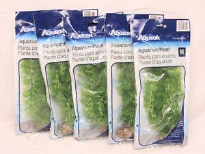 Aqueon 09696 Parsley Aquarium Plant, 10-Inch, 5 pack