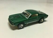 Vintage 1967 Mustang GT Green w/ GY RR Tires 1/64 Special Edition Diecast Car