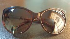 Tiffany And Company 4065 B Sunglasses, Authentic  Havana Heart Signature