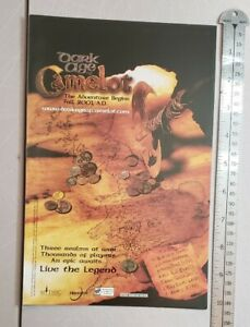 Dark Age Of Camelot The Adventure Begins RARE Print Advertisement