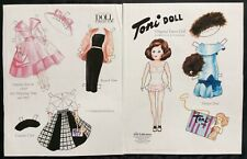 Toni Doll Mag. Paper Doll By Maureen Fitzsimmons, 2007