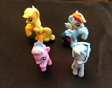 4 figures from My Little Pony Friendship is Magic Cutie Mark Collection. New