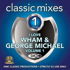 DMC Wham and George Michael Vol 1 Megamixes & 2 Trackers Mixes Remixes DJ CD