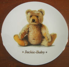 Steiff Jackie Teddy Baby Royal Worcester Ultimate Bear Plate Collection Ltd #855