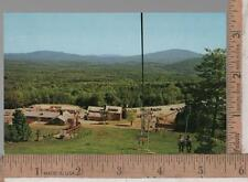 1960s unused post card BROMLEY MOUNTAIN MANCHESTER VT Chair Lift in Summer