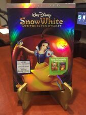 Disney's Snow White & The Seven Dwarfs (DVD, 2-disc Diamond Ed,2009)Factory Seal