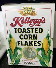 Kellogg's 85th Anniversary 24oz box of Corn Flakes- W.K. Kellogg - Collector Box