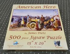 Sunsout – 37624 – American Hero (James Dietz) – 500 Piece Jigsaw Puzzle *RARE*