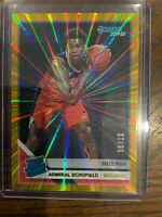 2019-20 Donruss Basketball Admiral Schofield RC Press Proof Laser 06/10!! 🔥🔥🔥