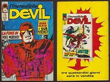 L'INCREDIBILE DEVIL 38 LA FINE DI MIKE... CORNO 7/10/1971 IRON MAN SUB MARINER