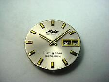 Mido Watch Dial Vintage Automatic Multi Star Datoday Pearl 25.88mm Hands NOS