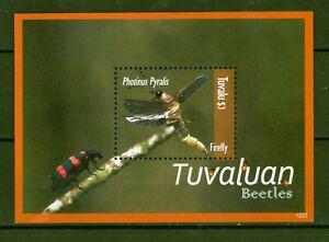 Tuvalu 2012 - Käfer Leuchtkäfer Beetles Firefly - Photinus pyralis  Block 193 **