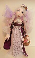 More details for fairy princess standing doll handmade ooak fantasy artist  by dollydumpling