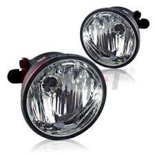 For Chevrolet Pontiac Clear Lens Chrome Housing Replacement Fog Lights Lamps