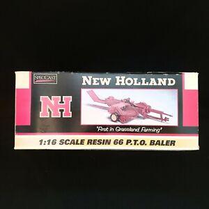 New Holland 1:16 Scale Resin 66 P.T.O. Baler *NIB*