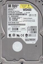 """Western Digital WD400BB - 00CAA0 40Gb 3.5"""" Internal IDE PATA Hard Drive"""