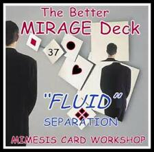 A BETTER MIRAGE DECK with FLUID Separation -- the quality choice of Cardicians