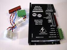 Galil Motion Control PWM Servo Amplifier Brush Type MSA-12-80