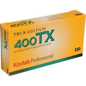 Kodak Tri-X 400 120 Black & White Negative Roll Film - 400TX  - PACK of 5