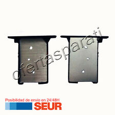 Repuesto Bandeja Porta Tarjeta Sim Negra para Xiaomi MI3 Negro