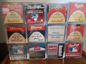 Major League Baseball Ball Boxes