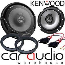 "VW Golf MK6 2009 - 2012 16cm 6.5"" Kenwood 600 Watts Front Door Car Speakers Kit"