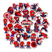 Waterproof Spiderman sticker Cartoon Stickers Anime Super Heroes for KID Luggage